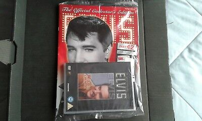 The official collectors edition ELVIS magazine, Deagostini, part 42, with dvd