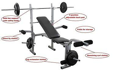 Phenomenal Home Multi Gym Bench Press Weight Training Adjustable Pdpeps Interior Chair Design Pdpepsorg