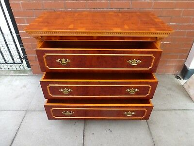 A Yew Three Draw Chest Of Draws ***DELIVERY AVAILABLE***