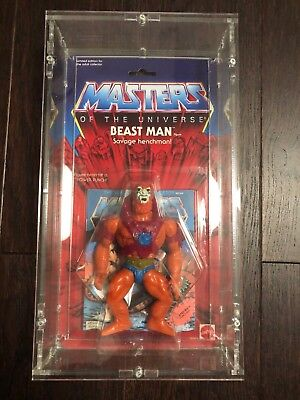 Masters of the Universe Motu Commemorative Beast Man Limited Sora Acryl Case Min