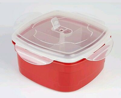 The Ultimate Microwave Steamer - Removable Dividers * New *