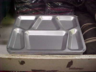 USGI Stainless Steel Military Mess Trays New never used Lot of 12 UNMARKED