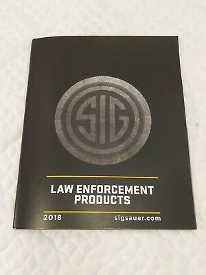2018 Sig Sauer Law Enforcement Products Catalog Sig Mcx Mpx P365
