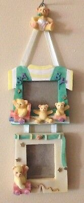 Cute Baby Double Frame With Bears