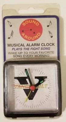 NORTHWESTERN UNIVERSITY NCAA MINI TRAVEL ALARM CLOCK OFFICIALLY LICENSED NIP