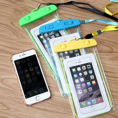 Universal Luminous Waterproof Underwater Pouch Bag Dry Cover for Phones G