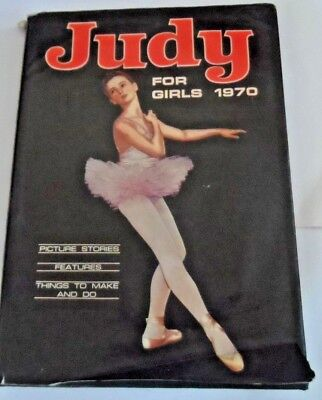JUDY FOR GIRLS 1970 (D C Thomson, 1969)