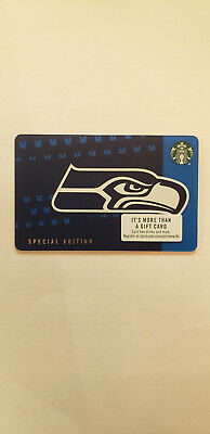 Starbucks 2018 Special Edition Seattle Seahawks Card