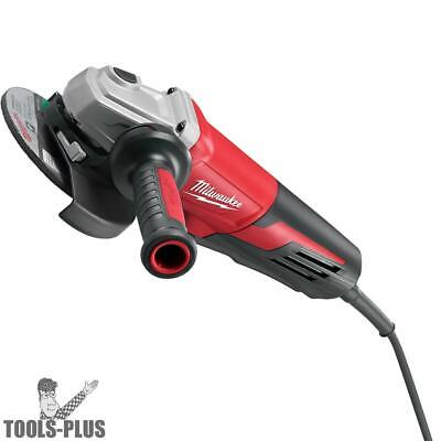 """Milwaukee 6161-30 6"""" 13 Amp Small Angle Grinder with Paddle Lock-On New"""