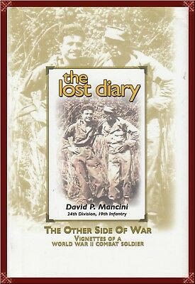 WWII--U.S. ARMY--24th DIVISION, 19th INFANTRY--Pfc's COMBAT MEMOIR! HARD TO FIND