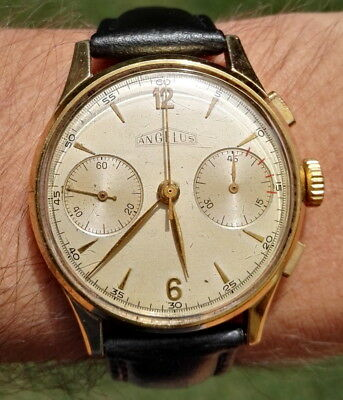 Angelus Chronograph Vintage Cal. 215 Swiss Made