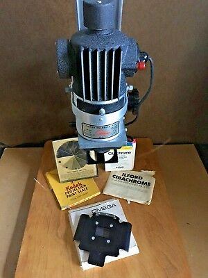 Simmon Omega B-22 Enlarger with extras