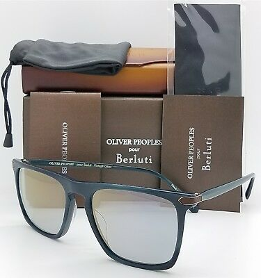 05d794b830 NEW Oliver Peoples Rue De Sevres OV5354SQ 1599Y5 54 Indigo Blue Goldtone OV  5354