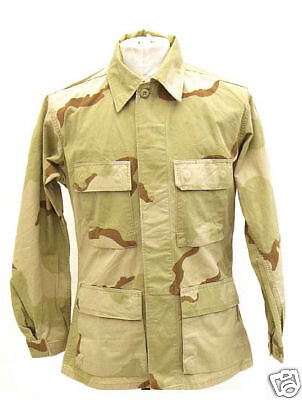 Desert Camouflage Military Issue Shirt BDU NYCO **NEW**