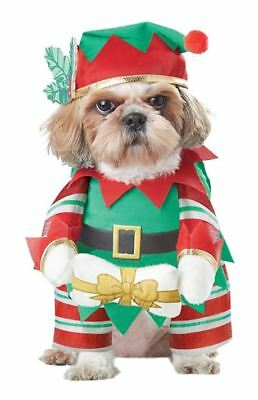 Christmas Elf Dog Costume for Pet Puppy