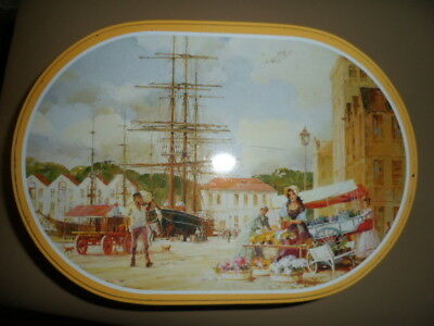 Collectable  Arnotts Biscuit Tin    [Flower Sellers]