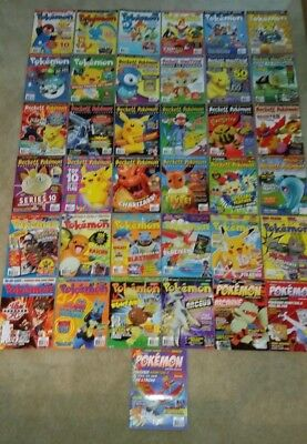 Pokemon: Collector Beckett Magazines - Total Lot of 37; 2007-2010