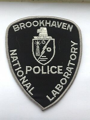 U.S. Department Of Energy Brookhaven National Laboratory Police Patch.(Subdued)