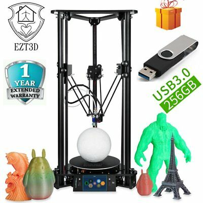 EZT T1 Plus+L Touch Screen 3D Printer with 1.5W Laser Engraving Auto Leveling AS