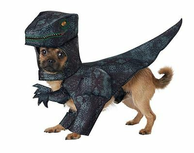 Pupasaurus Rex T-Rex Dinosaur Dog Costume for Halloween Pet Puppy