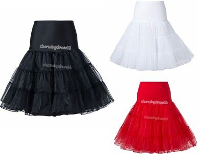 Womens Petticoats Skirt, Tutu Crinoline Half Slips for Dress