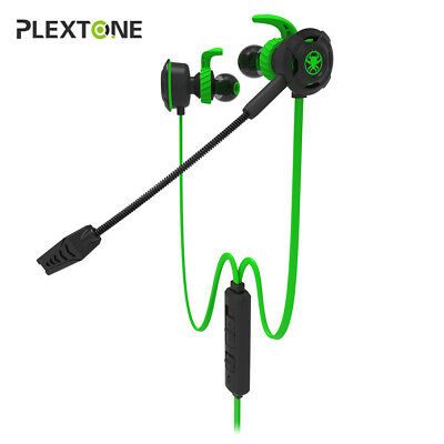 In-Ear Gaming Headset Surround Stereo Headphone Earphone With Mic For PC Phone
