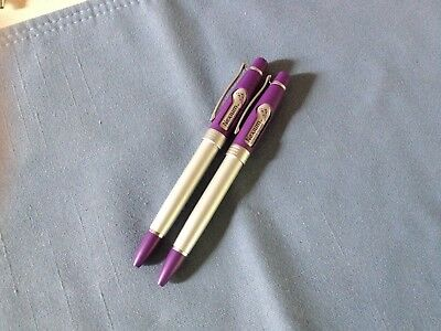2  metal nexium drug rep pens