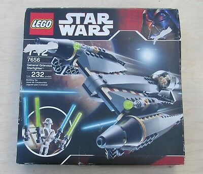 Star Wars Lego 7656 General Grievous Starfighter Minifg Instruction