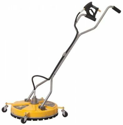 20″ Whirlaway BE Surface Cleaner Yellow Rotary Flat With Castors