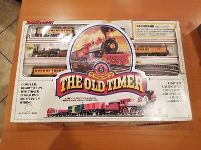Bachmann THE OLD TIMER Train Set 24404 HO scale / gauge new in box