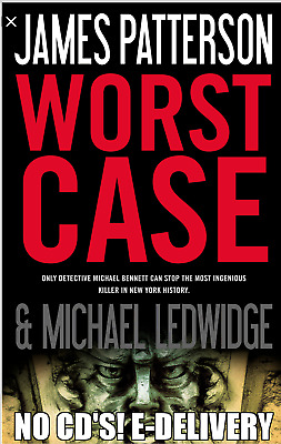 Worst Case by James Patterson  Unabridged AUDIO BOOK  E-delivery