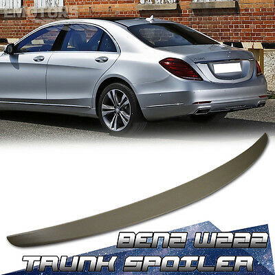 Painted Mercedes Benz W222 S-Class Sedan Oe Boot Trunk Spoiler S320 S350 2014Up