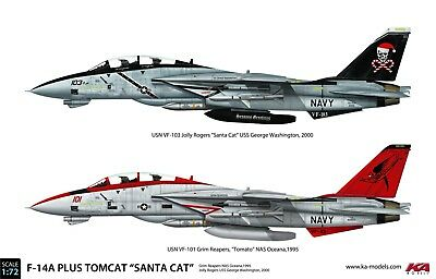 "1/72 F-14A Plus Tomcat ""Santa Cat"" Deluxe full kit"
