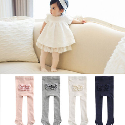 Tights Cotton For Girls Kids Newborn Baby Soft Warm Tights Stockings Cute