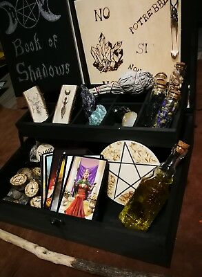 Box Stregoneria, wicca, witchcraft, esoterismo, pentacolo
