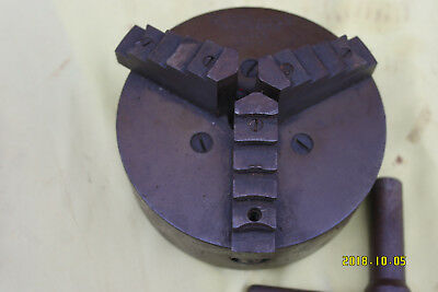 3 - Jaw Lathe Chuck No.604 Special.  Skinner Co. U.S.A.