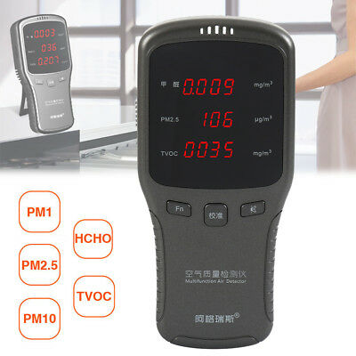 Multi Testers Indoor Air Quality Detector Accurate Testing Formaldehyde Monitor