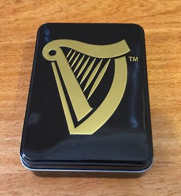 Guinness Tin. With Sealed Deck Playing Cards + 3 Balloons