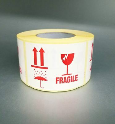 Fragile Shipping  Adhesive Packaging Stickers/Labels Large 110x80mm, 1000pcs