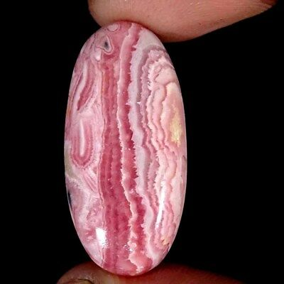 33.70Cts 100% Natural Rhodochrosite Oval Cabochon Loose Gemstone
