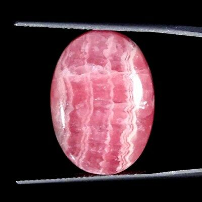 24.60Cts 100% Natural Rhodochrosite Oval Cabochon Loose Gemstone