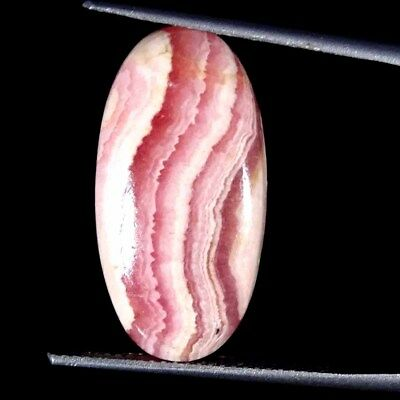 14.40Cts 100% Natural Rhodochrosite Oval Cabochon Loose Gemstone
