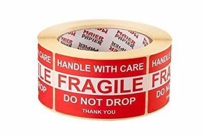 Fragile Handle With Care Do Not Drop Shipping Labels 50x80mm, 500pcs