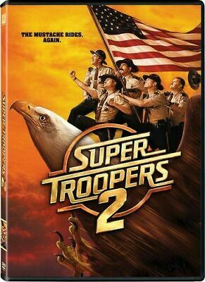 Super Troopers 2 DVD 2018 New and Sealed Australia Region 4