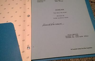 Chicago Hope Script - Hand signed by Mark Harmon (NCIS) - RARE!!!!