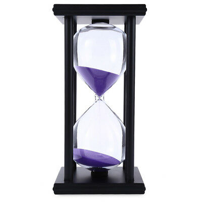 Hourglass Sand Timer 60 Minutes Wood Sand Timer for Kitchen Office New