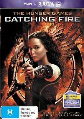 The Hunger Games - Catching Fire (DVD, 2014)  very good condition
