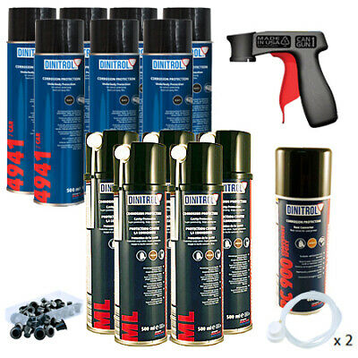 Dinitrol Rust Proofing Kit Aerosol Medium Cars Escort Astra