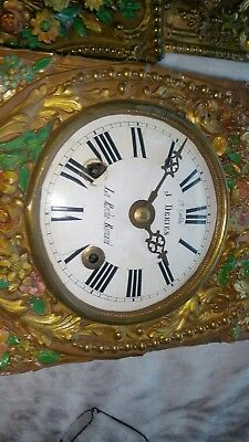 Antique French Morbier / Comtoise Wall Clock