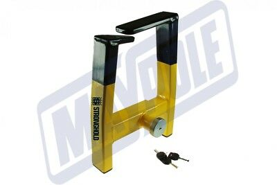 Stronghold Atlas Auto Wheel clamp SH5439 Sold Secure Gold Insurance Approved